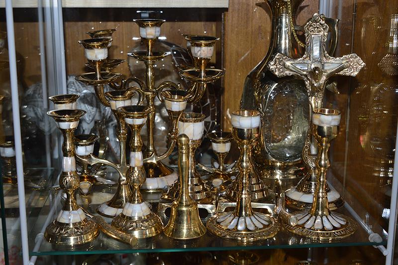 Magazin decoratiuni din alama vintage